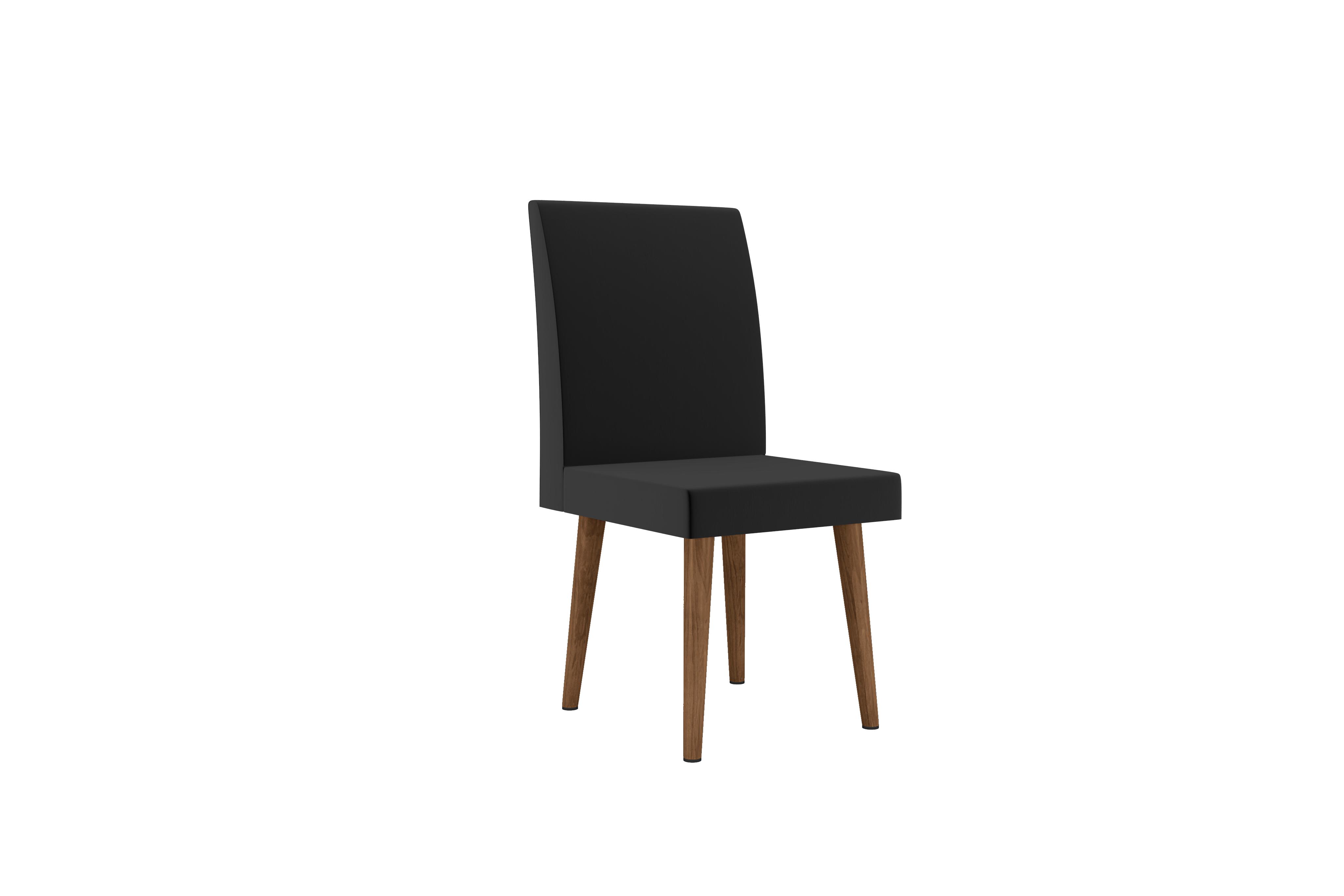 Cadeira Jade tecido Preto